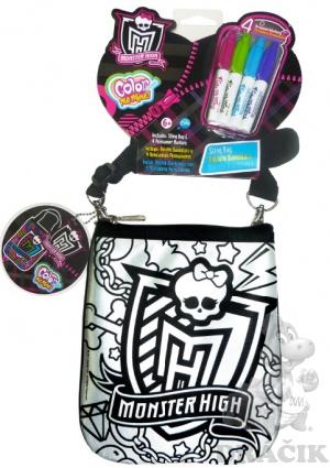 Kabelka na vymaľovanie Monster High | Dráčik