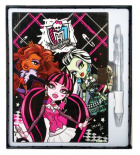 Monster High diár s perom
