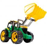 Traktor s lyžicou
