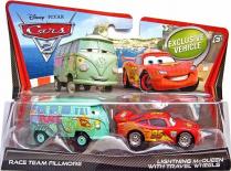 Autíčka Cars 2 - 2 kusy