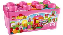 10571 LEGO DUPLO - Ružový box plný zábavy