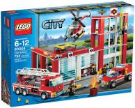 60004 Lego City - Hasičská stanica
