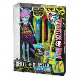 Monster High - Bábika na vyfarbenie