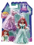 Disney Princess - Mini bábika s kúzelnými šatami