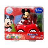 Mickey Mouse - Figúrka s autom