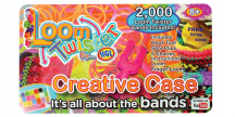 Loom Twister - Veľký kreatívny kufrík