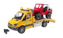 Odťahová služba Mercedes - Benz Sprinter a Jeep