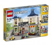 31036 Lego Creator - Obchod s hračkami a potravinami