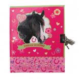 Dream Horses - zápisník so zámkom