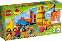 10813 LEGO DUPLO – Veľké stavenisko