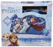 Frozen - Penové puzzle