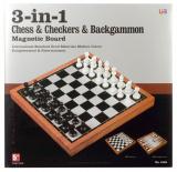 Magnetický šach 3 v 1