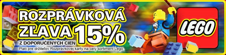 LEGO zľava 15%