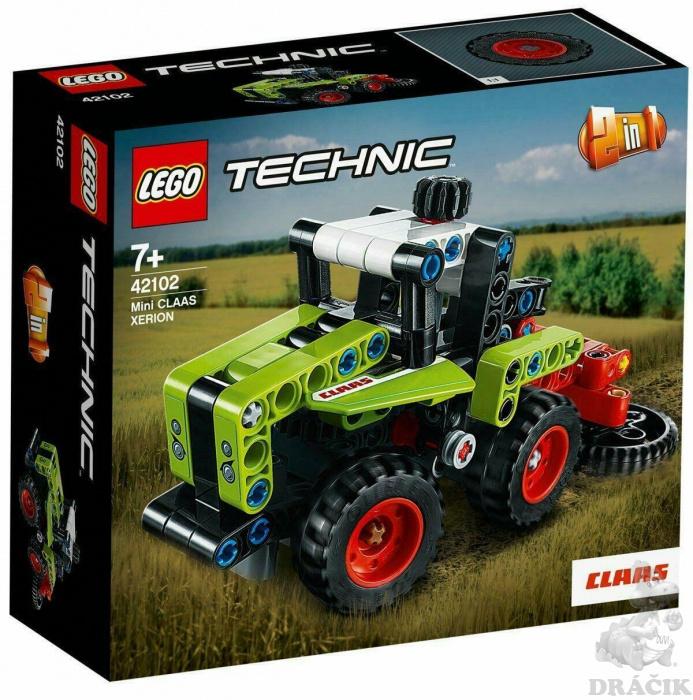 42102 LEGO TECHNIC - Mini CLAAS XERION