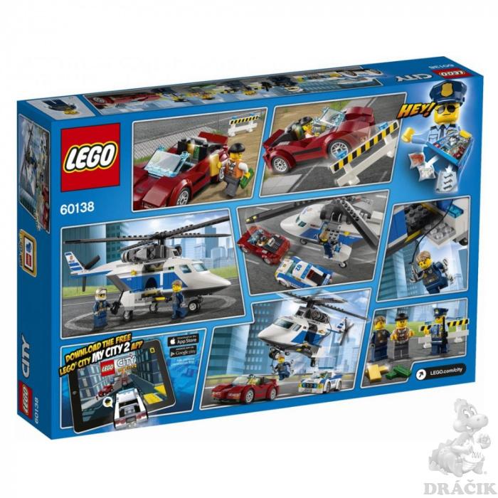 4244902a6 60138 LEGO CITY - Naháňačka vo vysokej rýchlosti | Dráčik