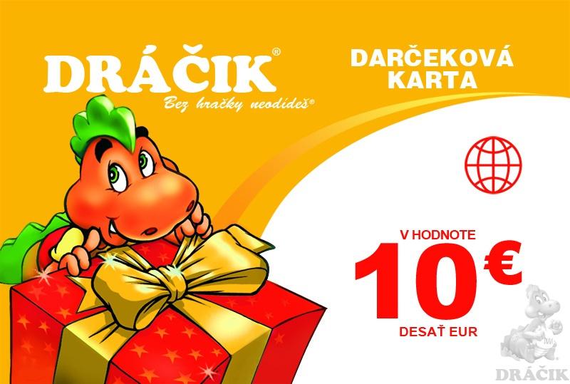 810019bf5 Darčekové karty   Dráčik