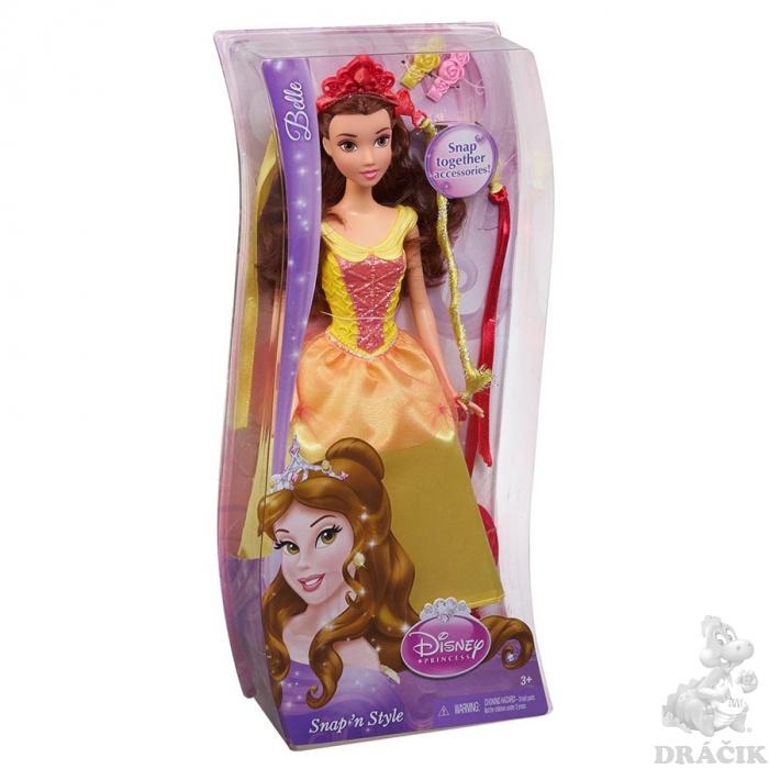 deea5228d Disney Princess - Bábika s čarovnými vlasmi | Dráčik