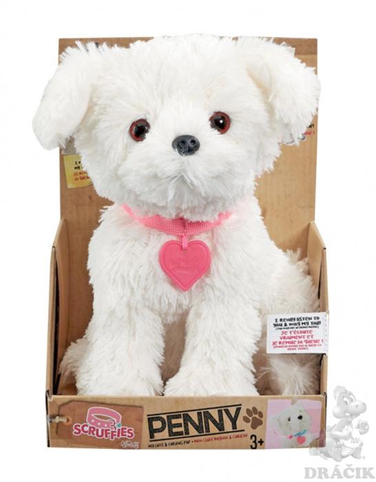 125c60901 Plyšový psík Penny | Dráčik