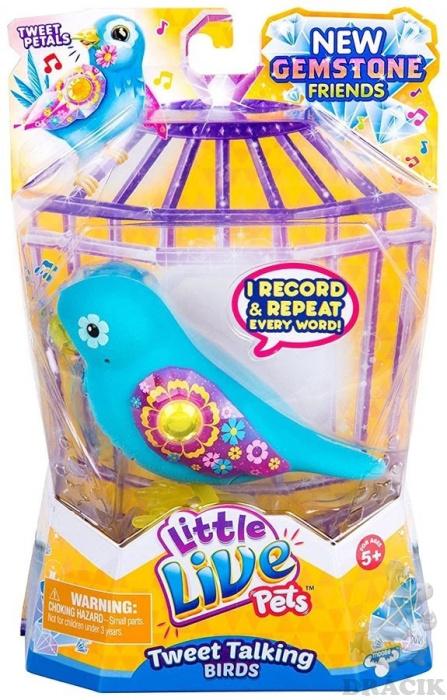 1953f6a30 Little Live Pets - Vtáčik modrý | Dráčik