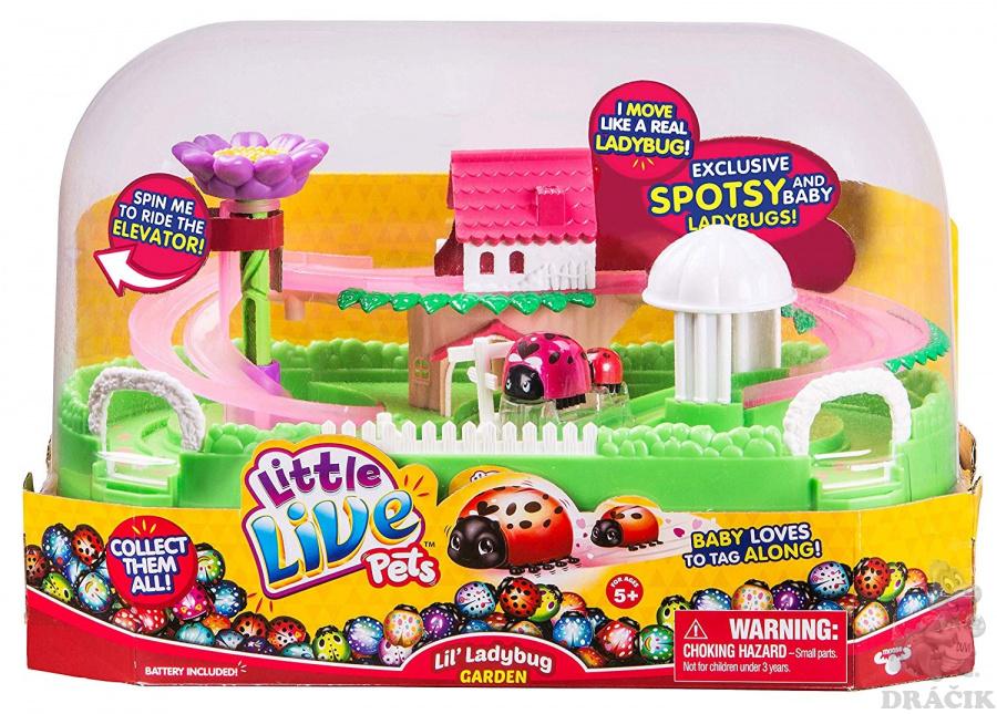 35563dec3 Little Live Pets - Záhrada pre lienky | Dráčik